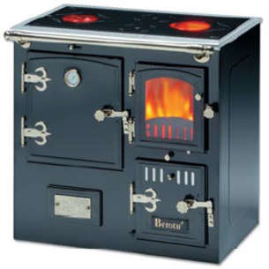 Cocinas r sticas serie modular cocinas calefactoras - Cocina de pellets ...